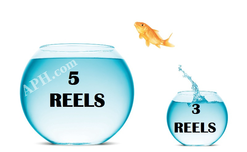 3 and 5 Reel AU Pokies Online